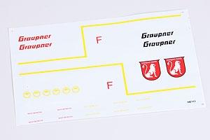 Dekorbogen Graupner 9594.14