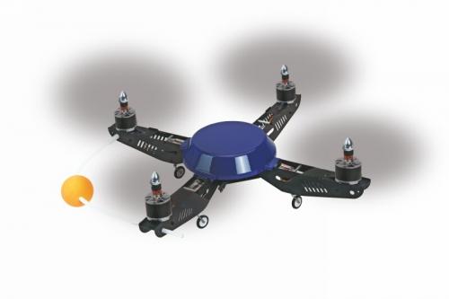 WP 330X Quad FlyerRC Quadrocopter Graupner 9604