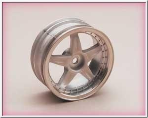 VX-Felge chrom 24mm,7mm Offse Graupner 96222