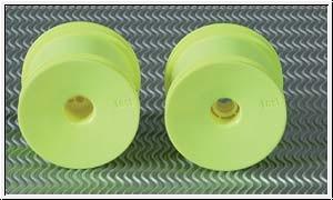 Hintere Truck-Diskfelgen gelb Graupner A7155