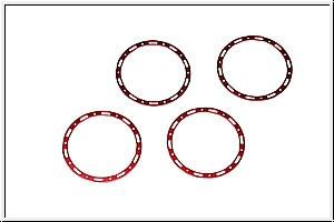 Rote Ringe f.5-Speichen-Felge
