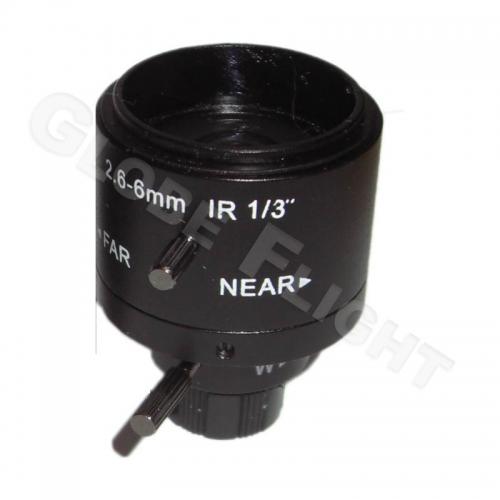 Varioobjektiv 2,6mm - 6mm  0019