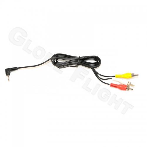 AV-Stereo Kabel Klinke-Chinch 1m  0228