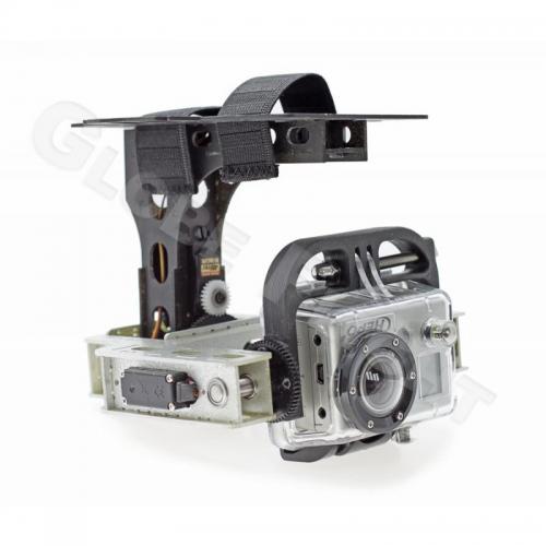 GoPro HD 1+2 Secure - Roll/Tilt mit digi MG Servos  0271