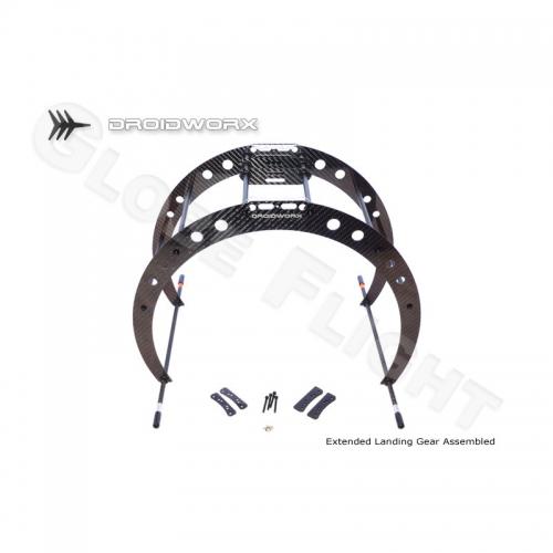 Landegestell für Droidworx AD Rahmen (extended Version)  0382
