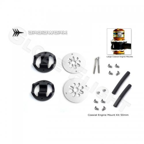 Motorhalter Kit für Droidworx AD Rahmen (50mm Koaxial)  0386