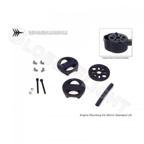 Motorhalter Kit für Droidworx AD und CX4 Rahmen (Standard Lift)  0443