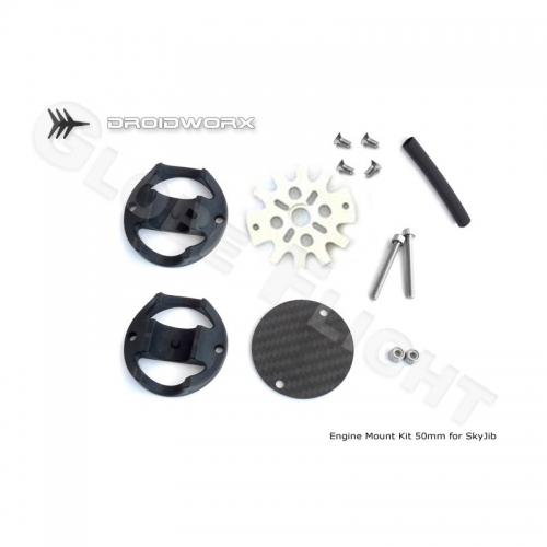 Motorhalter Kit für Droidworx SkyJib Rahmen (50mm)  0451