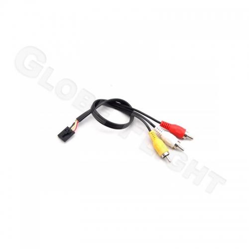 AV-kabel Chinch - 5pol Molex 25cm  0631