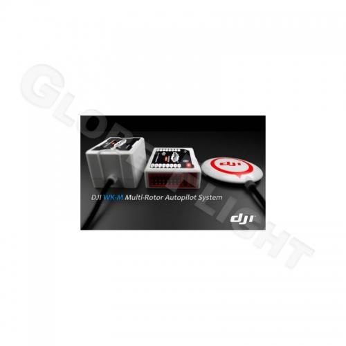 SPARPAKET DJI Wookong + iOSD + Bluetooth LED + Datalink 2,4 Ghz + 50 Waypoint Li