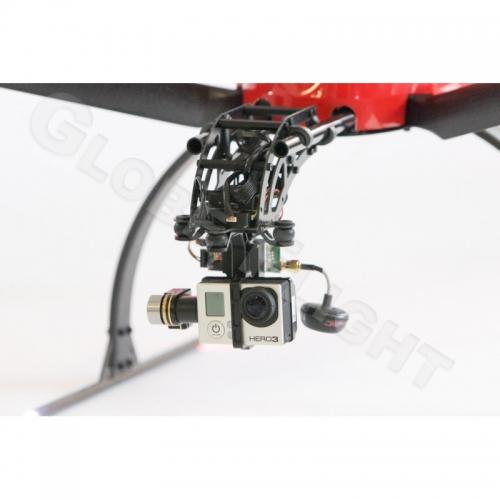 Brushless Gimbal GoPro mit Zenmuse H3 2D  1156