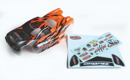 Karosserie orange Graupner H11272R