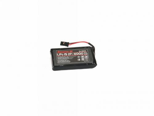 Senderakku Li 1S2P/4000 3,7V TX Graupner S8345.1