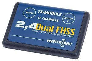 TX Modul 2.4 Dual FHSS Graupner W9700