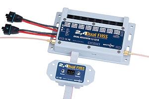 Dual Receiver 2.4 Dual FHSS 12-22 R Graupner W9720
