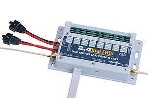 Dual Rec.2.4 Dual FHSS 12-30R Gyro3+GPS Graupner W9724