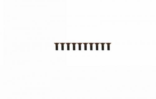 Senkkopfschraube M2,6x12 (10) Graupner H31304