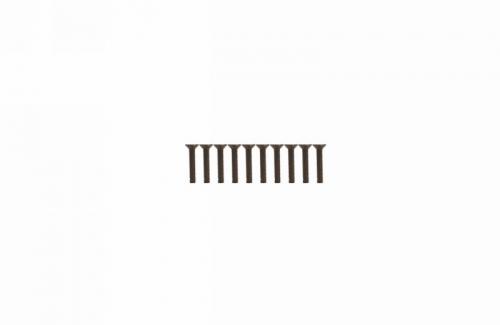 Senkkopfschraube Innensechsk. M3x16 (10) Graupner H31316