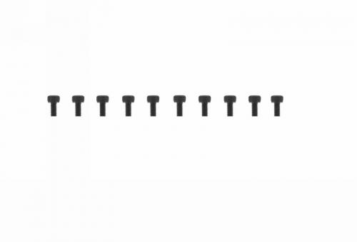 Schraube Innensechskant M3x6 (10) Graupner H32306