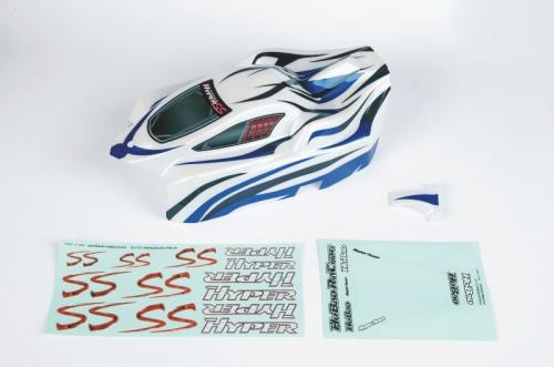 Karosserie lackiertblau für Elektro SS Graupner H90062BU