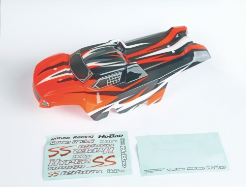 Karosserie lackiertorange für Truggy SS Graupner H92008