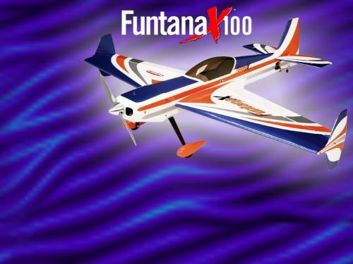 Funtana X 100 ARF HAN4175 JSB Hangar9 E-Flite Scorpio