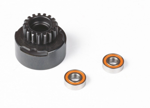 Kupplungsglocke 18 Zähne Lager 5x12 mm Graupner HOP.0017