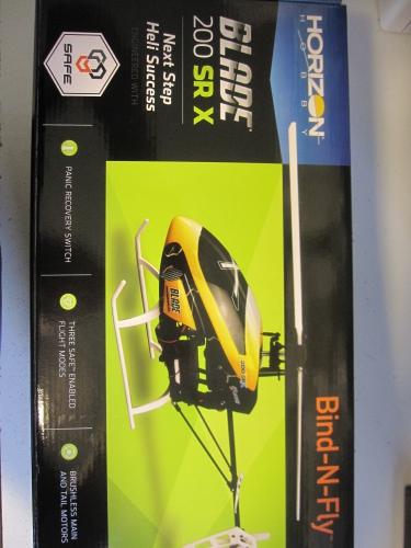Blade 200 SR X BNF Horizon BLH2080EU