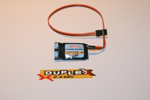 2.4GHz Jeti Duplex Expander E4 für bis zu 4 Sensoren