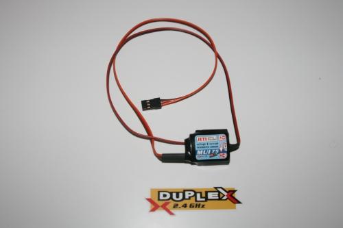 2.4GHz Jeti Duplex MUI150 Spannungs und Stromsensor 150A