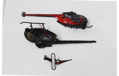 Kabinenhaube Spycopter L+R Jamara 037093