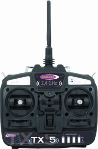 Fernsteuerung TX 5 2,4 Ghz Ga Jamara 061211