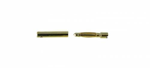 Goldkontakte 1,5mm 2 Stecker/2 Buchsen Jamara 095665
