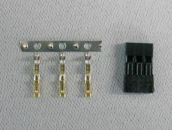 Servostecker Bausatz JR verg.Pins 100 St. Jamara 098333