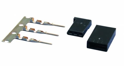 Servobuchse Bausatz Fut.3 Stück Jamara 098355