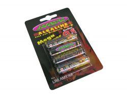 Batterie Jamara Mignon 1,5V Alkali 4St. Jamara 140095