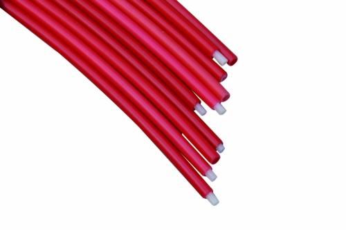 Bowdenzug rot  1m  3,8x5,5mm 10 St.