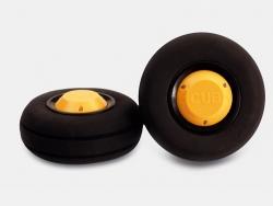 Räder Scale CUB gelb 103mm Jamara 172332