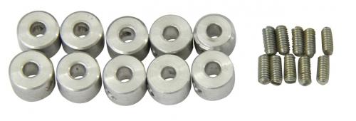 Stellringe Alu 3,2mm  VE 10 St.