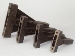 Motorträger bis 3-6,5ccm schwarz/Kunststoff Jamara 177693