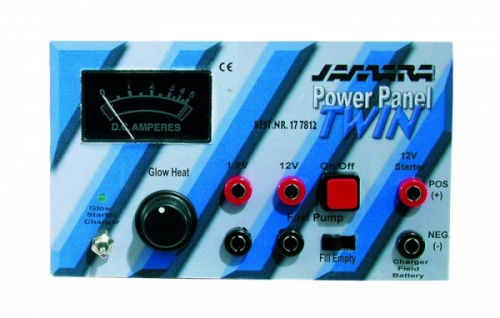 Power Panel Twin Boxer-geeignet Jamara 177812