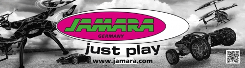 Banner Just Play 250x70cm Jamara 180313