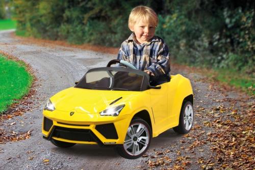 Ride-on Lamborghini Urus gelb 2,4G 6V Jamara 405076