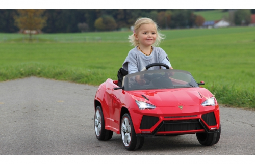 Ride-on Lamborghini Urus rot 2,4G 6V Jamara 405078