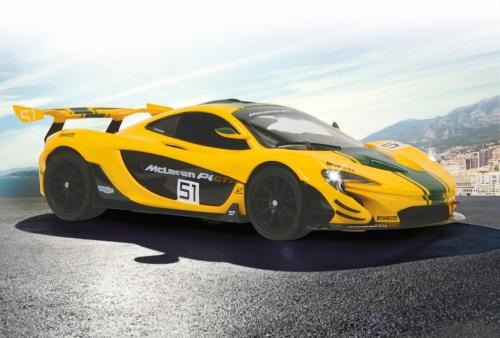 McLaren P1 GTR 1:14 2.4G gelb Jamara 405092