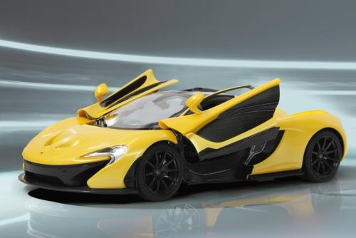 McLaren P1 1:14 40MHz Tür manuell gelb Jamara 405094