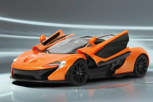 McLaren P1 1:14 27MHz Tür manuell orange Jamara 405095