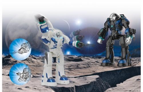 Robot Spaceman schwarz Infrarot Jamara 410043