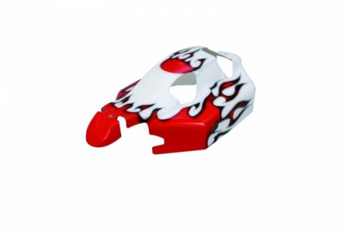 Karosserie Ultra BB weiß/rot Jamara 503731