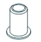 Lagerbuchse C-Hub X3 VE4 Jamara 504225